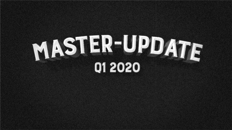 Patreon Master Update Q1 2020 Titelbild
